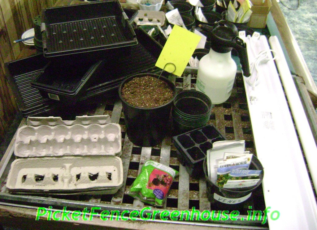 starting garden seed instructions